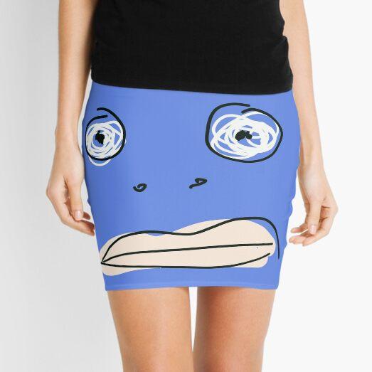 Blue monsta Mini Skirt