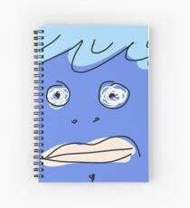 Blue monsta Spiral Notebook