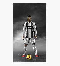 Cristiano Ronaldo Bester Juventul-Spieler Fotodruck