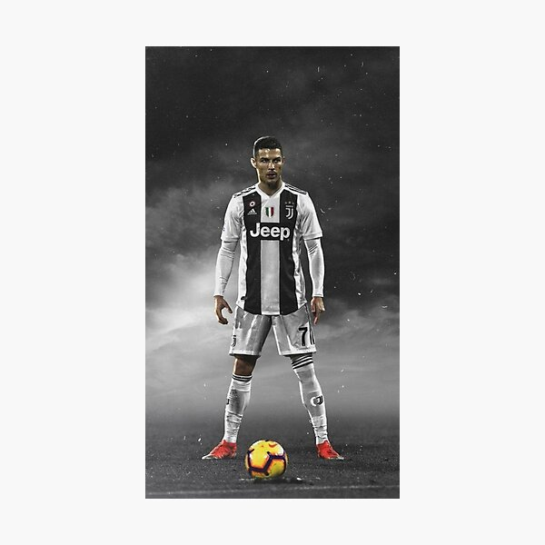 Cristiano Ronaldo Best Juventul Player Photographic Print
