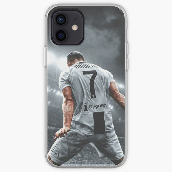 Cristiano Ronaldo Fantástico Jugador Funda blanda para iPhone