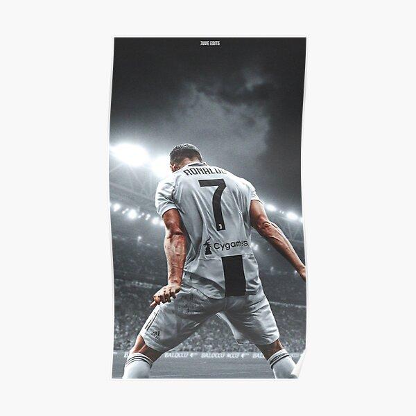 Cristiano Ronaldo Fantástico Jugador Póster