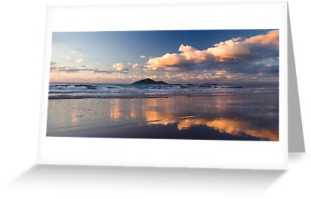 Sunrise at Mission Beach over Dunk Island by Susan Kelly
