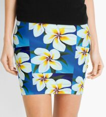 Frangipani fall Mini Skirt