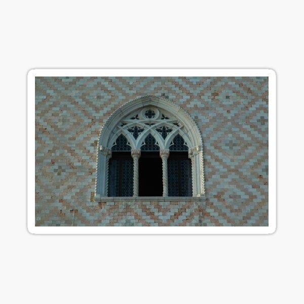 Venezianisches gotisches Fenster Sticker