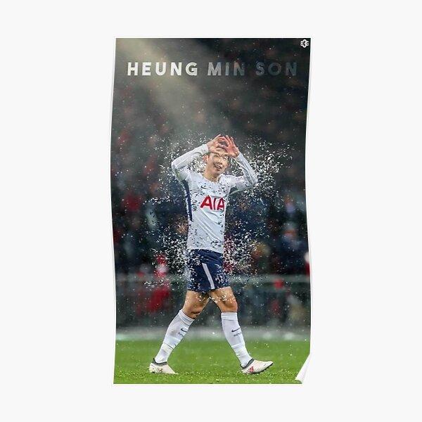 Heung-Min Son Tottenham jugador Póster