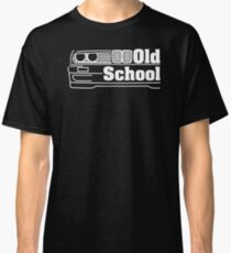 Camiseta clásica E30 Old School - Blanco