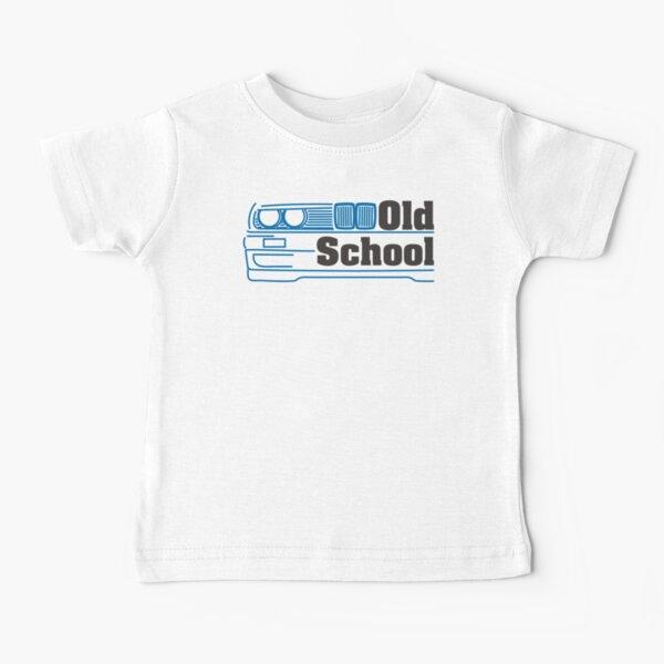 E30 Old School - Bleu T-shirt bébé
