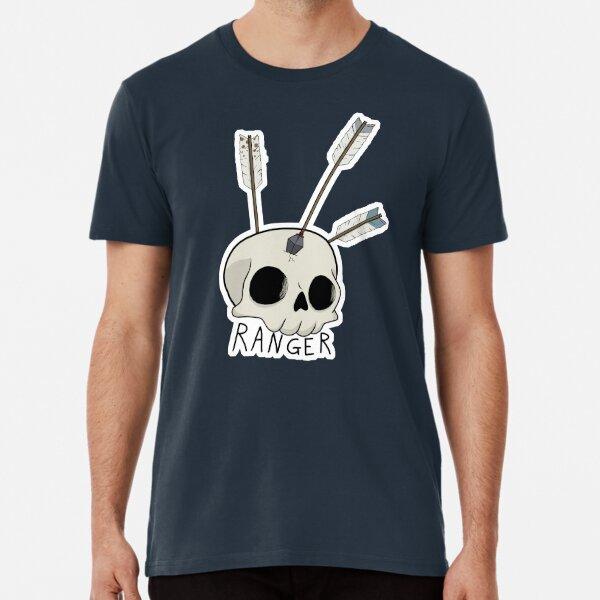 Ranger Skull D&D Class Premium T-Shirt