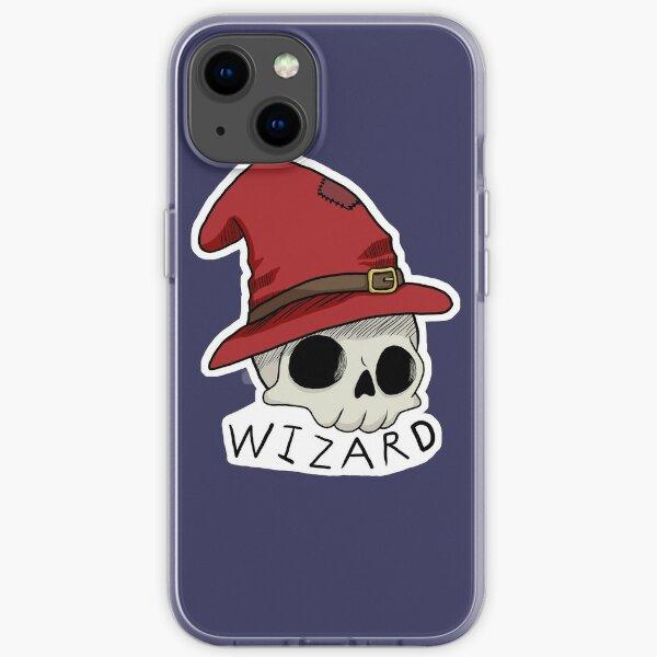 Wizard Skull D&D Class iPhone Soft Case