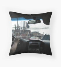 Rush Hour Traffic Throw Pillow