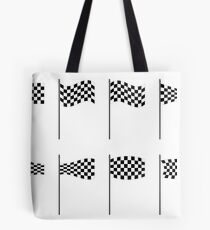 Checkered flags collection Tote Bag