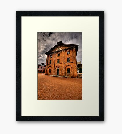 If These Walls Could Talk What Stories They Would Tell - Hyde Park Barracks, Sydney Framed Print
