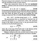 #Calculus-Based #Physics I, Chapter 8 #Formulas, Conservation of #Energy, Part 2 by znamenski