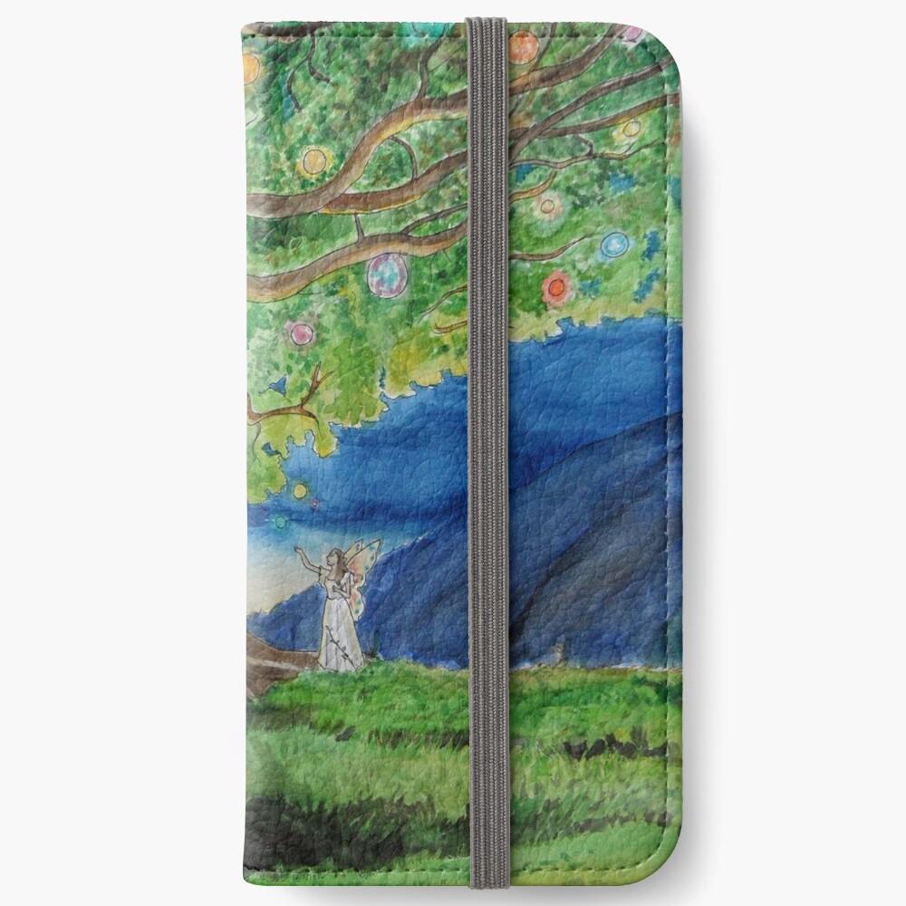 tree of lights iPhone Wallet