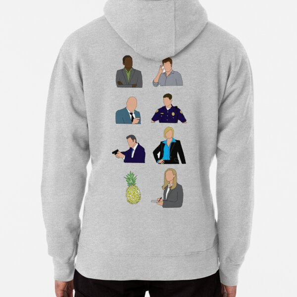 Psych characters Pullover Hoodie