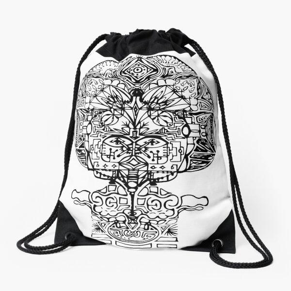 faceman Drawstring Bag