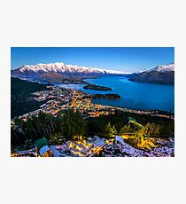Queenstown Glow Photographic Print