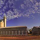 Silo Panorama by Kym Howard