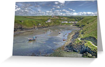 Abercastle, North Pembrokeshire, Wales by Bob Culshaw
