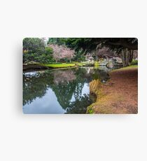 Botanic Gardens of Queenstown Canvas Print
