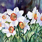 Narcissi by Ann Mortimer