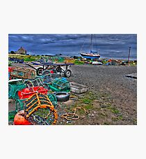A Fisherman's Office Photographic Print