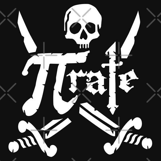 TShirtGifter presents: Pi Rate - 3.14 Pirate
