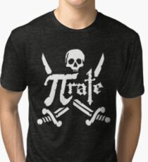 Pi Rate - 3.14 Pirate Tri-blend T-Shirt