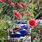 The blue pot by Steve plowman