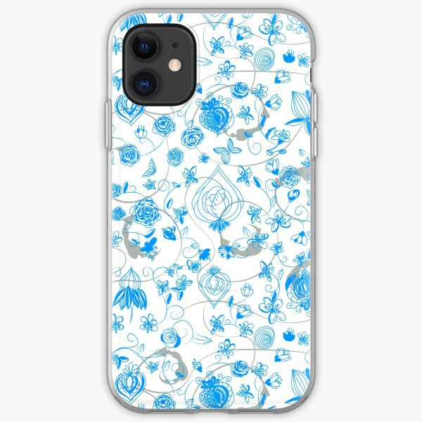 Blue Chinoiserie iPhone Soft Case