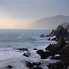 a little rocky cove by Mitch  McFarlane