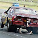 Camaro Drag Car by inmotionphotog