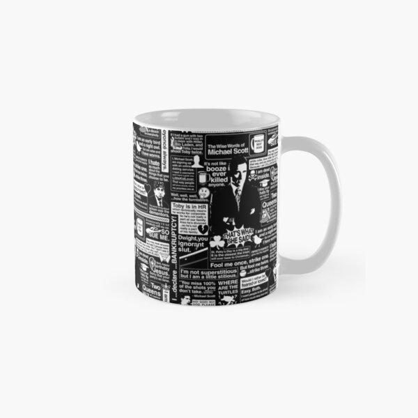 The Wise Words of Michael Scott Classic Mug
