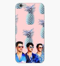 Vinilo o funda para iPhone  Carcasa Jonas Brothers COOL Piña para Iphone