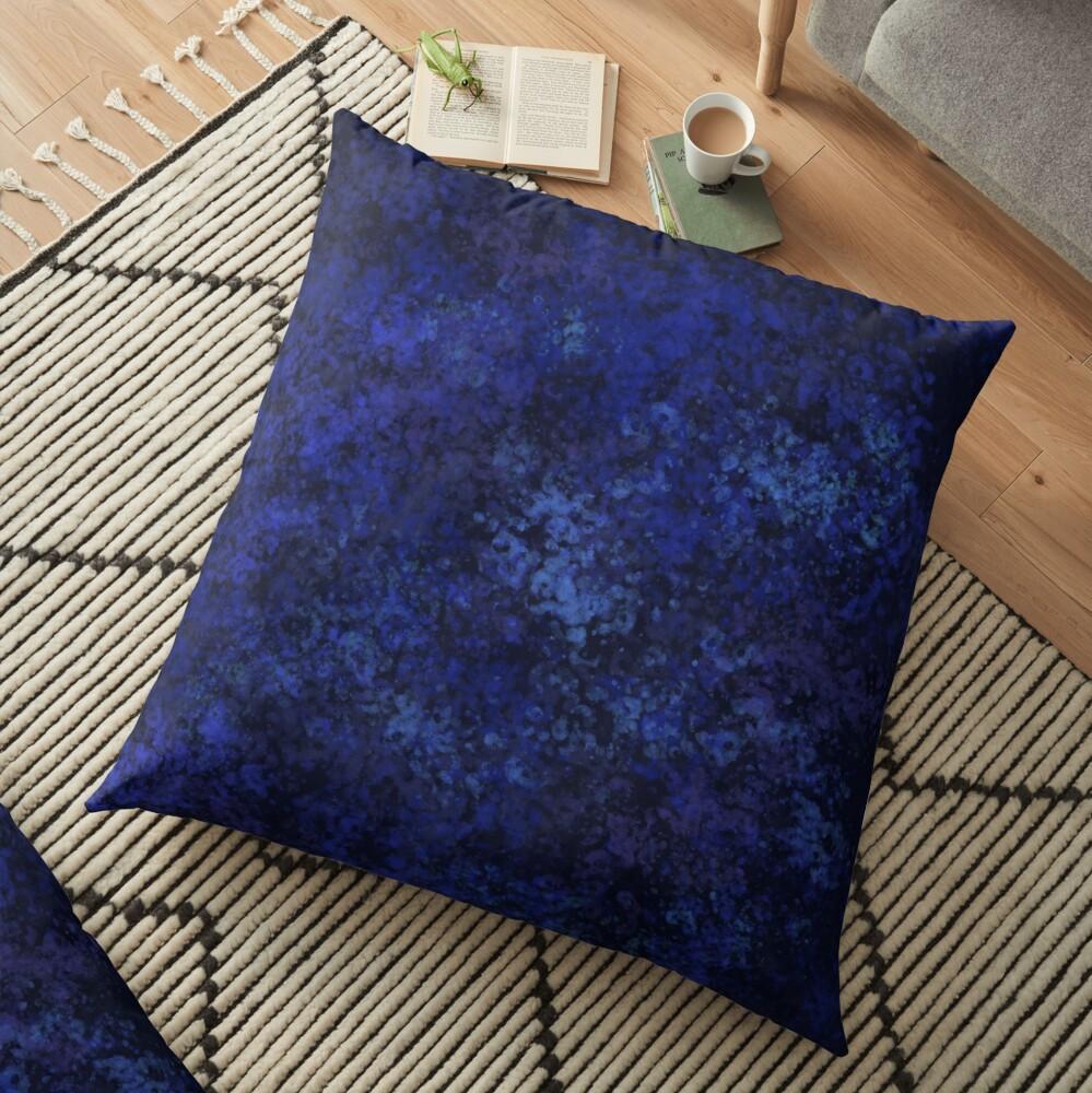 Blue Opal Floor Pillow