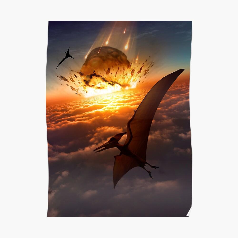 Pteranodon - End of an Era Poster