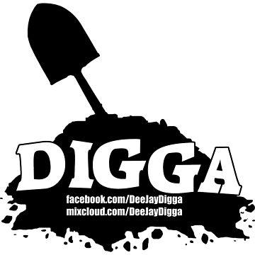 DJ Digga (Black Logo) by Joman