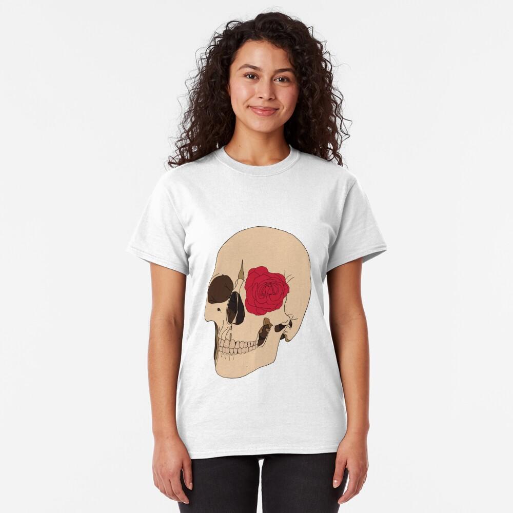 A Skull & a Rose Classic T-Shirt