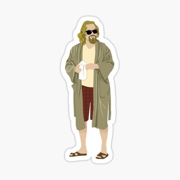 the big lebowski-the dude Sticker