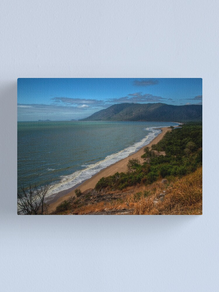 Alternate view of Panoramic view from Rex lookout, Queensland Canvas Print