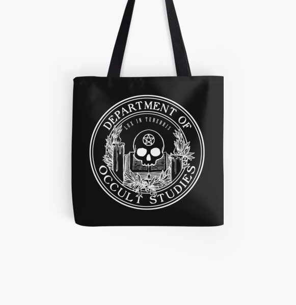 Occult Studies Department - Alastair Stone Chronicles All Over Print Tote Bag
