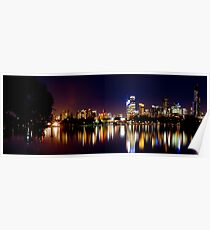 Melbourne City - from Albert Park Poster