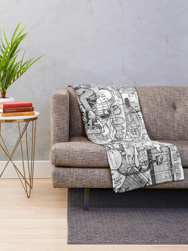 Alternate view of Ride Throw Blanket