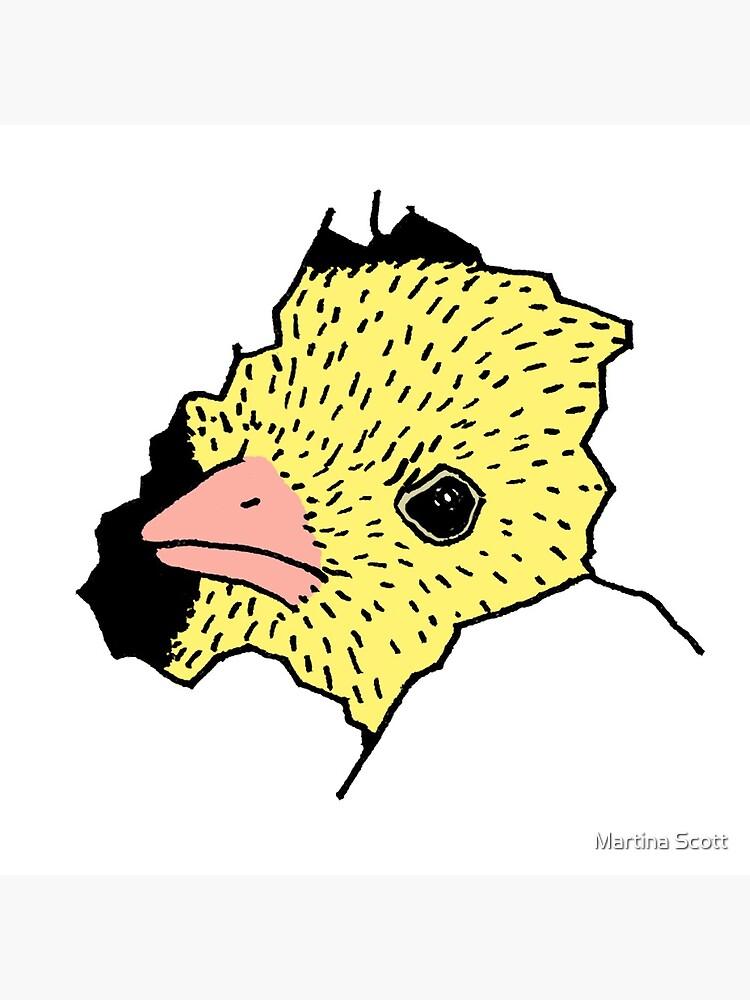 Heeere's Chicky by martinascott