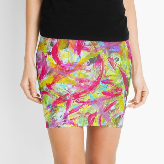 Koi Pond Mini Skirt