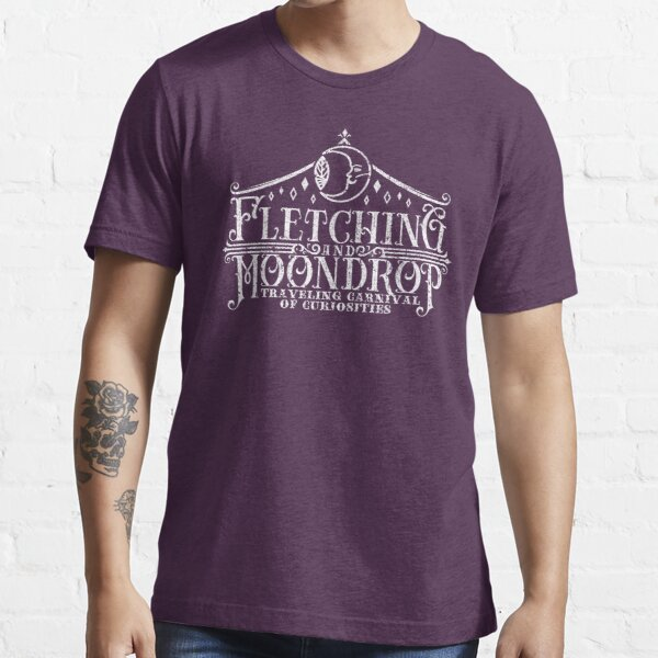 Fletching & Moondrop Traveling Carnival of Curiosities Essential T-Shirt
