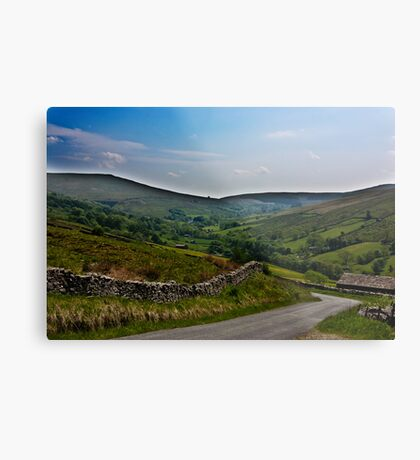 Road to Dent Station Metal Print