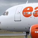 easyJet Airbus 319-111 by Pirate77