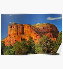 landscape sedona az Poster